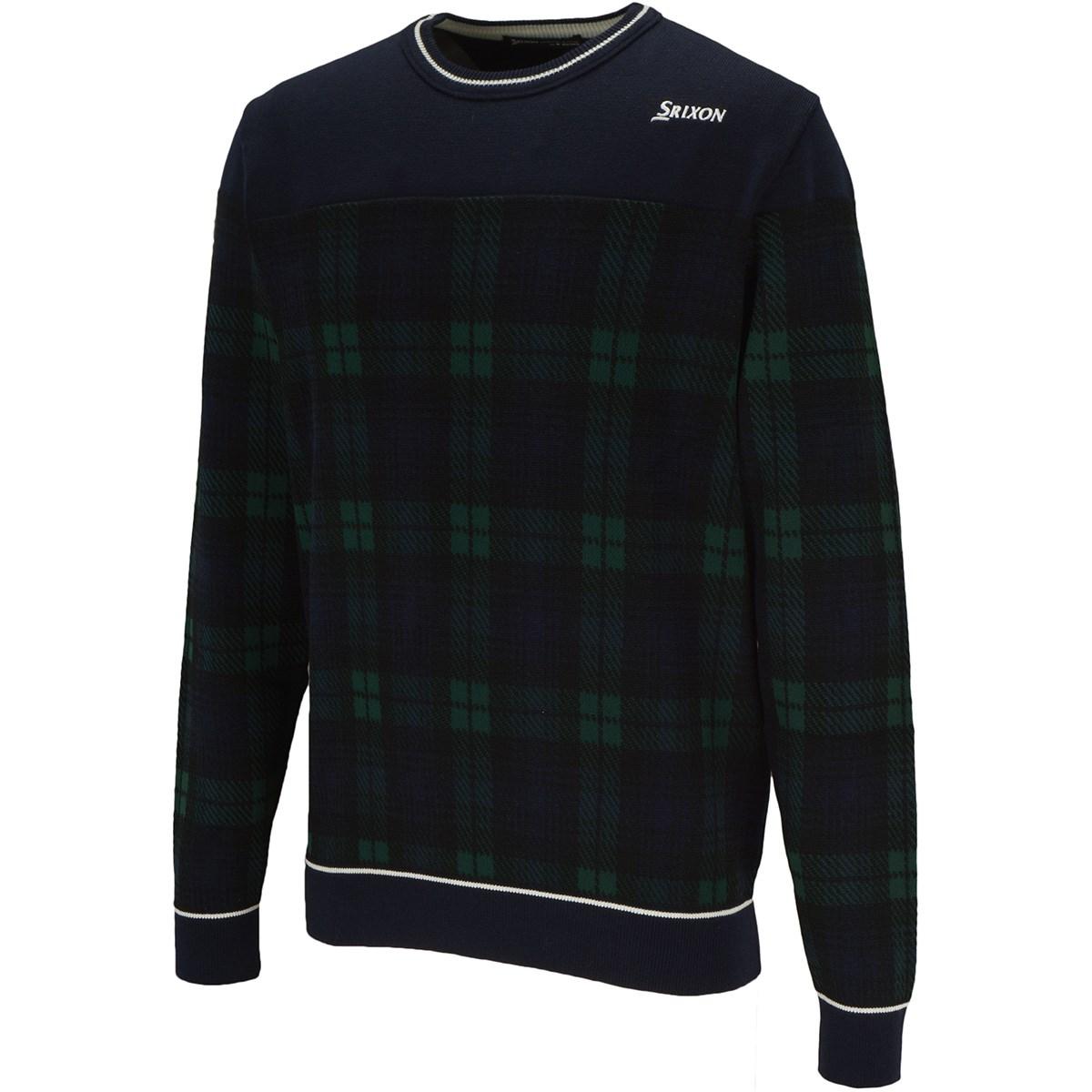 スリクソンゴルフ クルーネックセーター