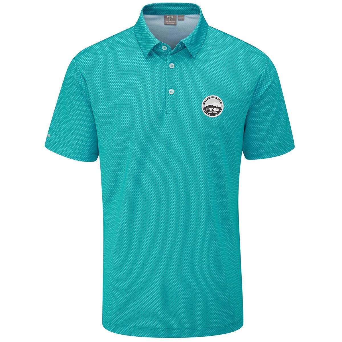 ピン(PING) スパイク-J 半袖ポロシャツ