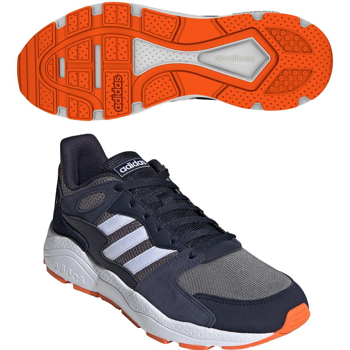 アディダス Adidas CHAOS シューズ 25cm グレースリーF17/ランニングホワイト/レジェンドインクF17