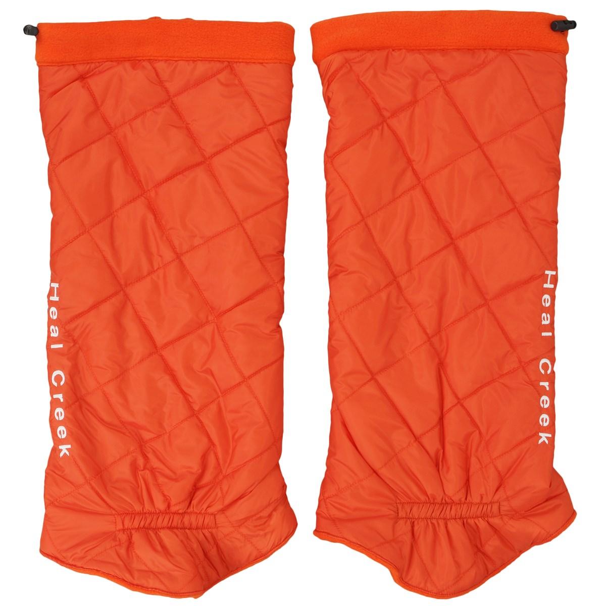 [アウトレット] [70%OFF 在庫限りのお買い得商品] ヒールクリーク Heal Creek レッグウォーマー オレンジ 035 レディース ゴルフウェア