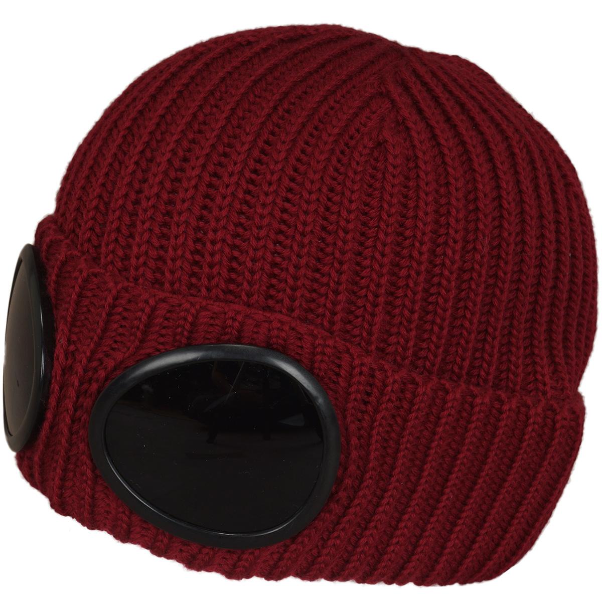 ゴーグル付きニット帽