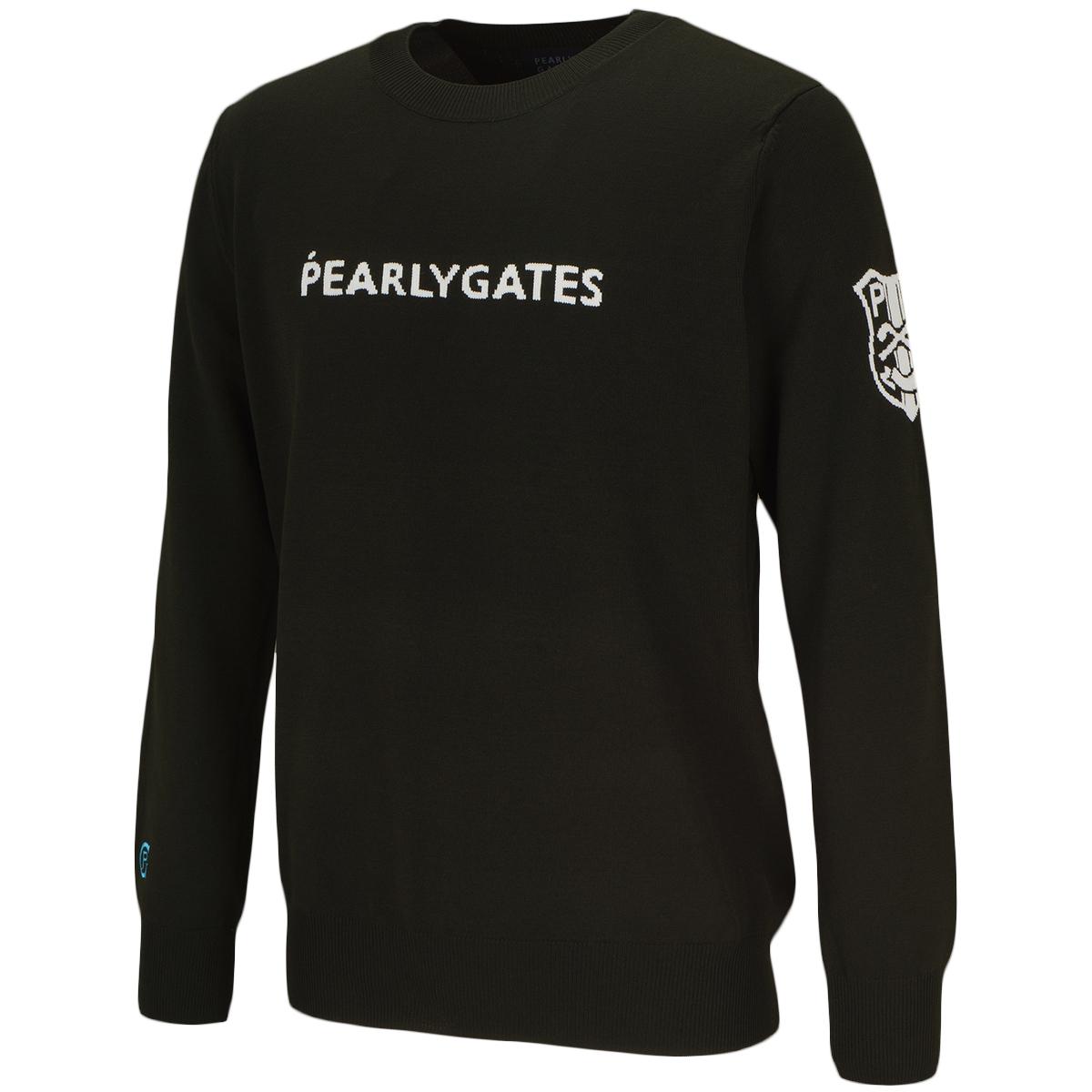 ロゴ長袖セーター