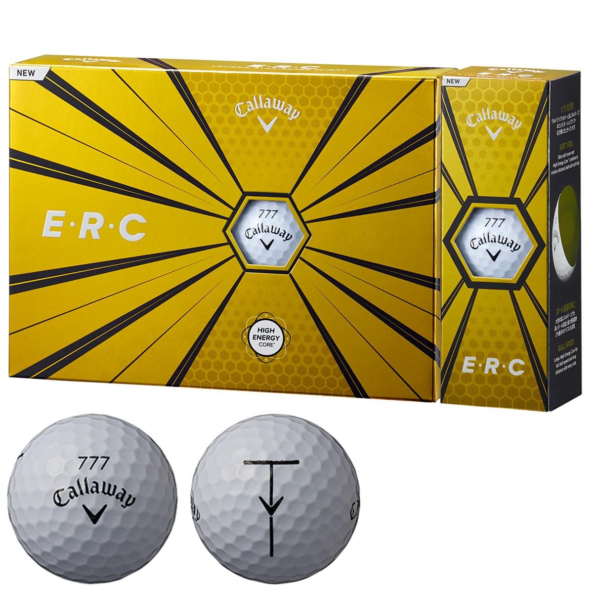 キャロウェイゴルフ E・R・C ERC 19 ボール 1ダース(12個入り) ホワイト