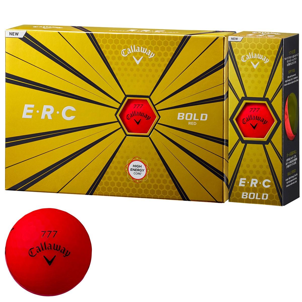 キャロウェイゴルフ E・R・C ERC 19 ボール 1ダース(12個入り) ボールドレッド