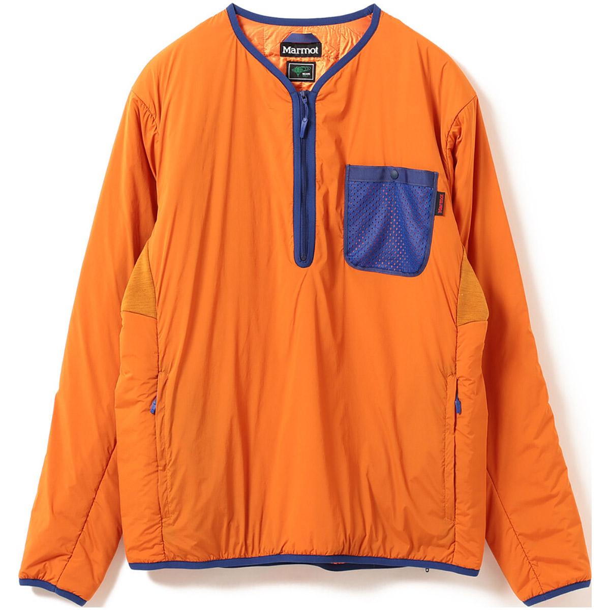 Marmot×BEAMS GOLF 別注 ウールラップ プルオーバー ジャケット