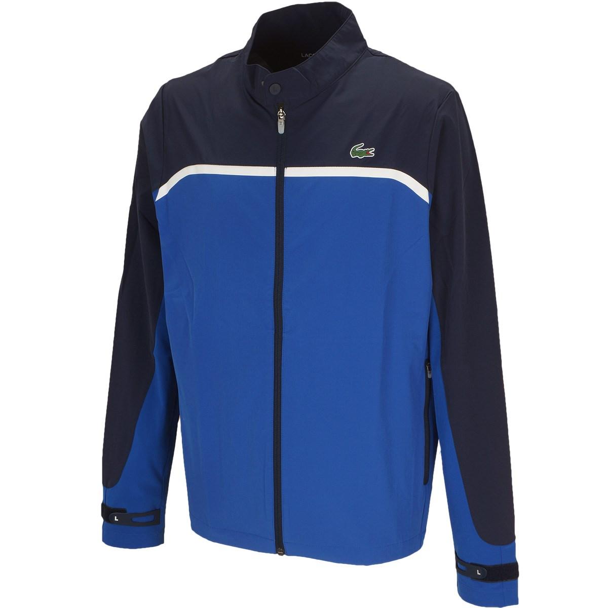 ラコステ カラーブロッキングゴルフスイングトップジャケット