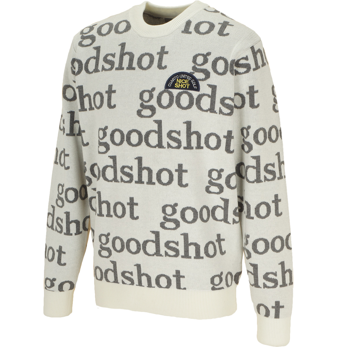 good shot ロゴセーター
