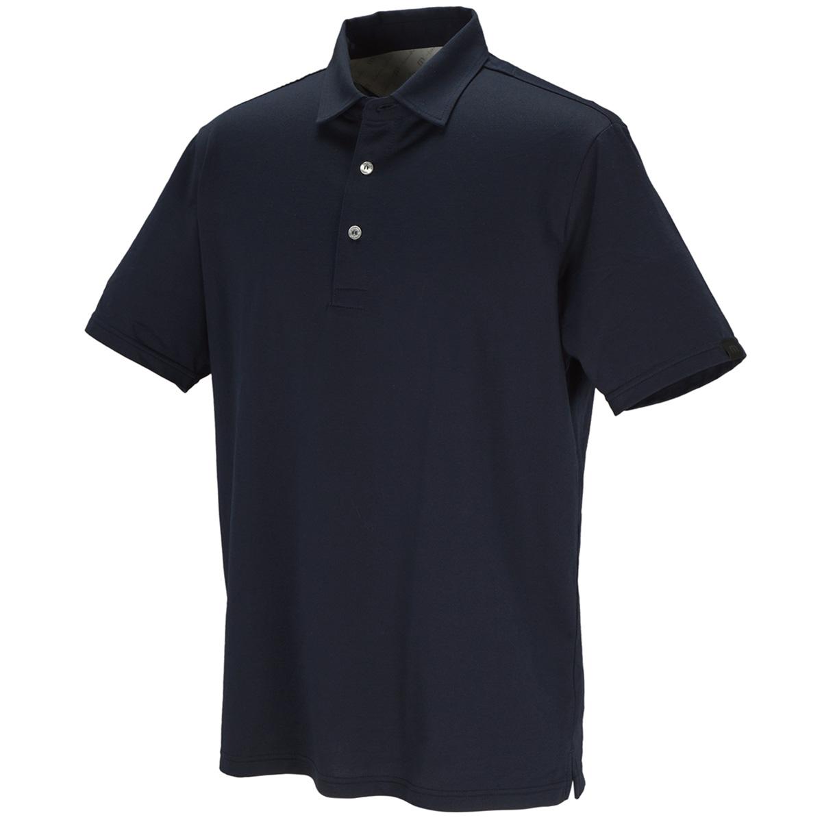 襟付き 半袖ポロシャツ
