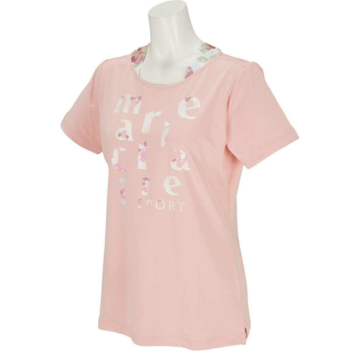 マリクレール marie claire 半袖Tシャツ M ピンク レディス