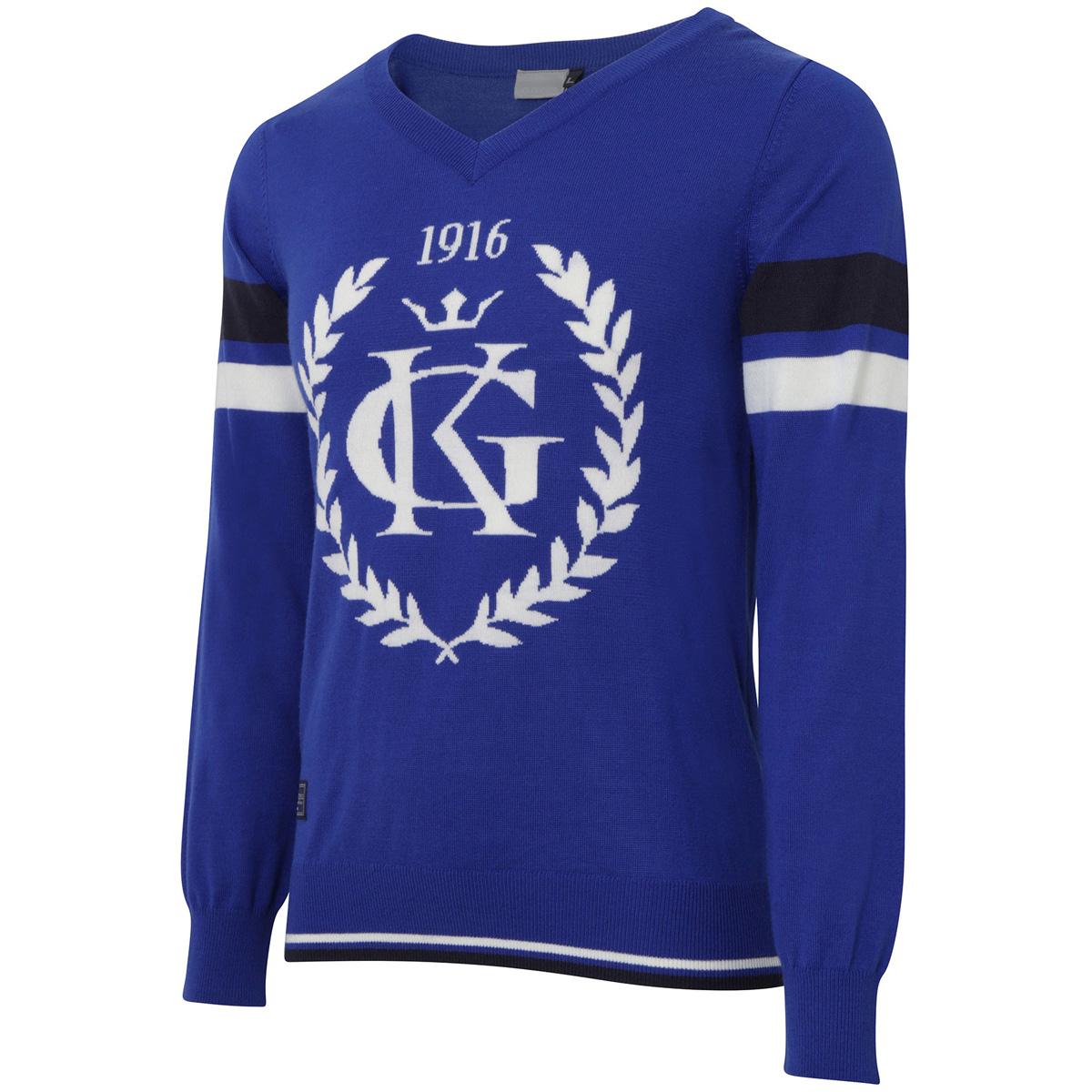Collezione ITALIA ビッグロゴセーター