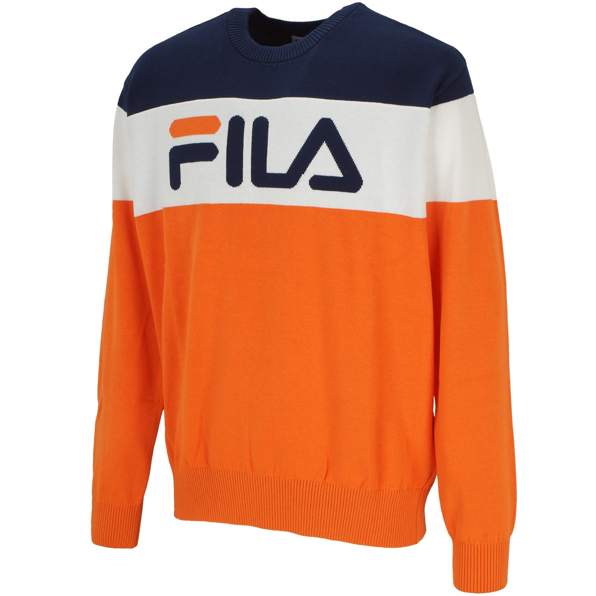 フィラ(FILA) クルーネックセーター