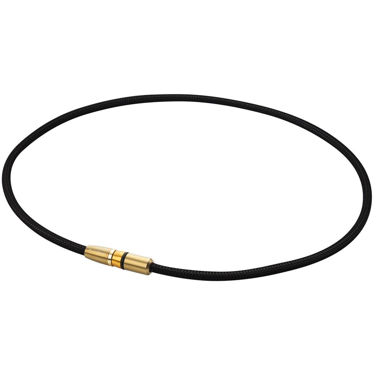 ファイテン phiten RAKUWA磁気チタンネックレス BULLET 50cm ブラック/ゴールド