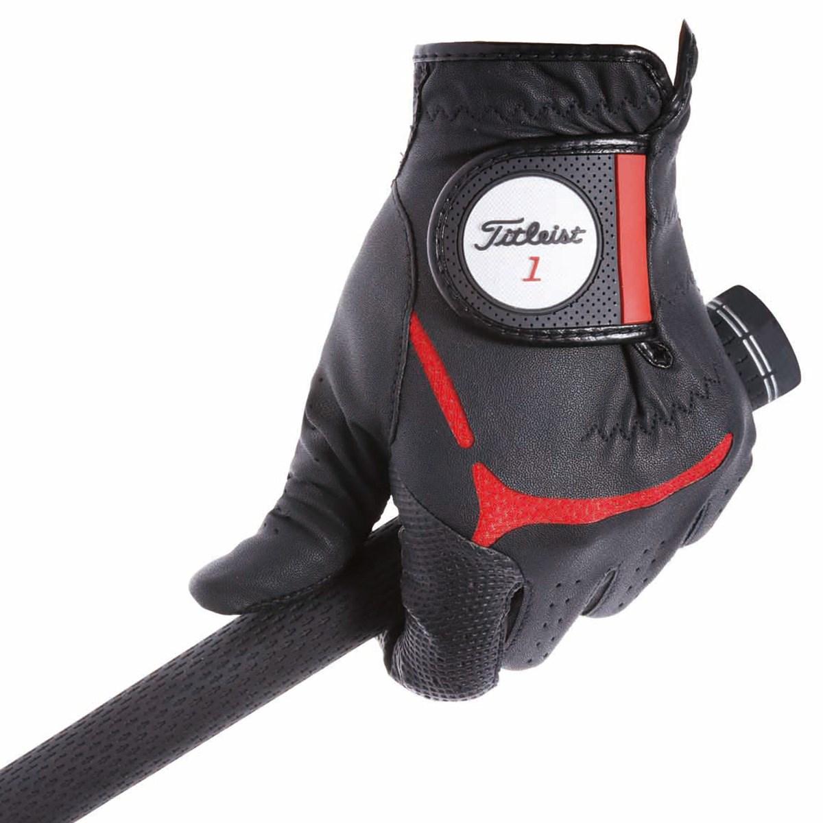 タイトリスト TITLEIST スーパーグリップ グローブ 24cm 左手着用(右利き用) ブラック