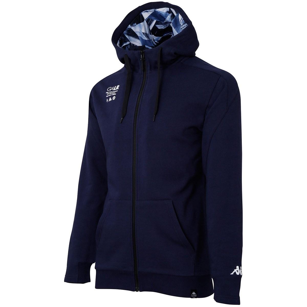 カッパ GArA LiBERO スウェットフーデッドジャケット