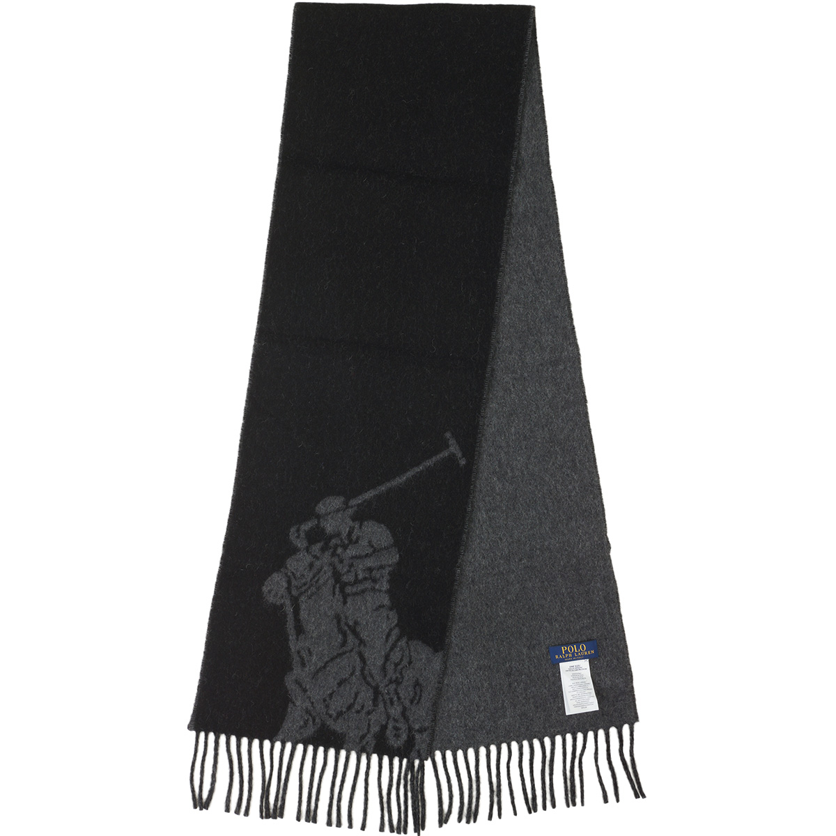 BIG PONY ジャガード スカーフ