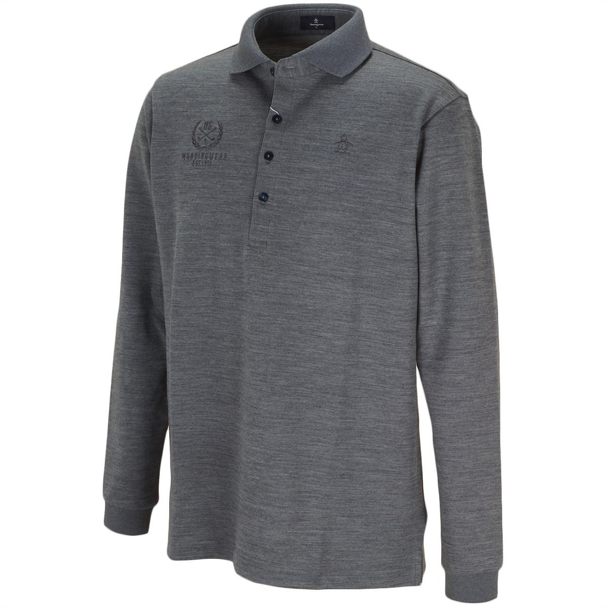 マンシングウェア WOOL吸湿発熱長袖ポロシャツ