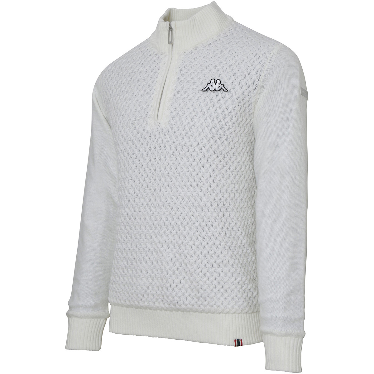 Collezione Italia 防風裏地付ハーフジップセーター