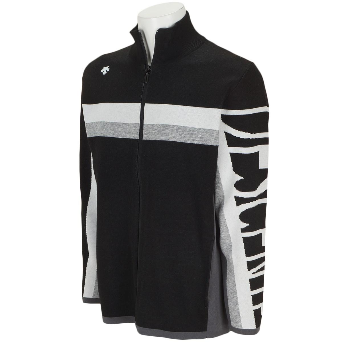 デサントゴルフ(DESCENTE GOLF) ウールポリエステルジャカードフルジップセーター