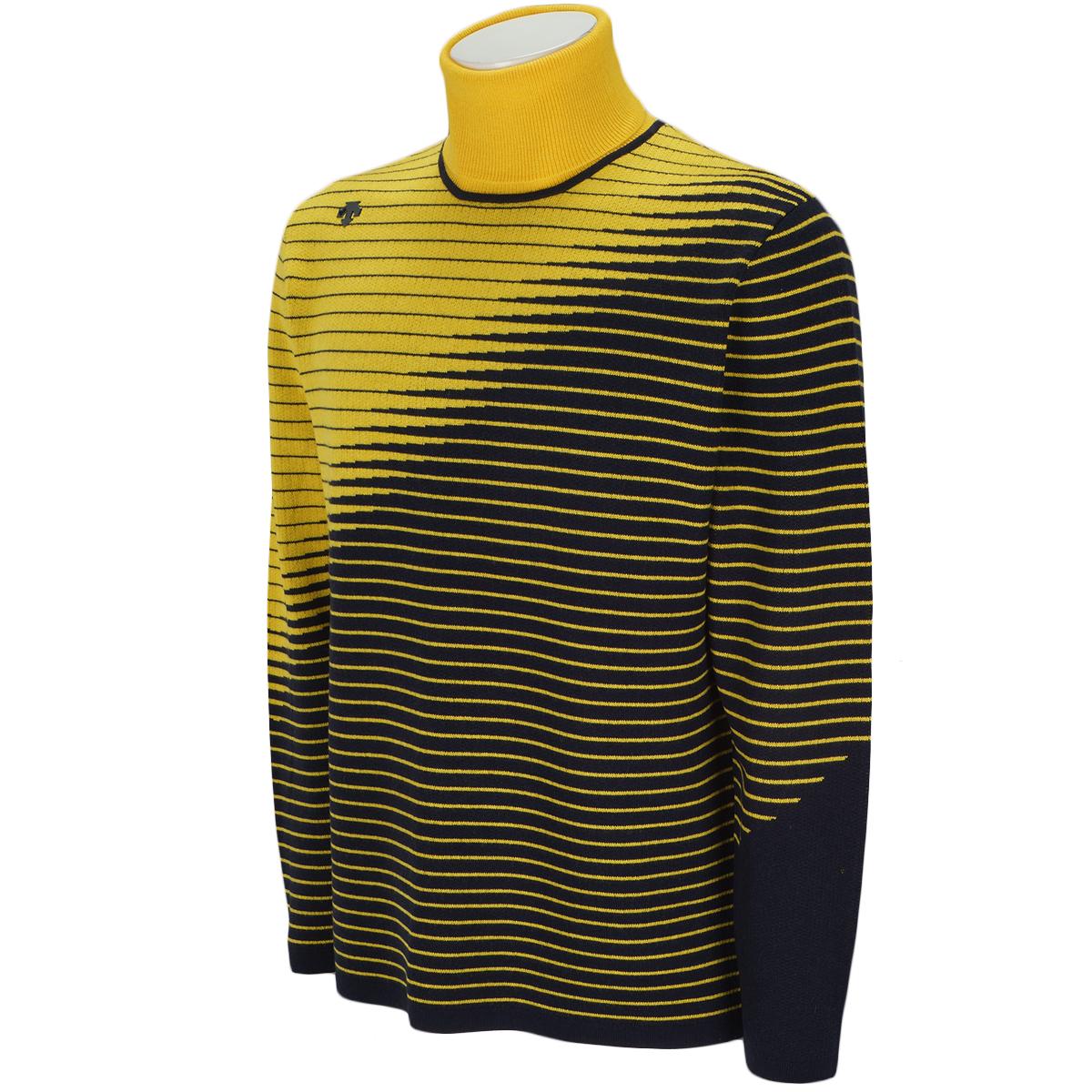 ライジングジャカード ラインデザインセーター
