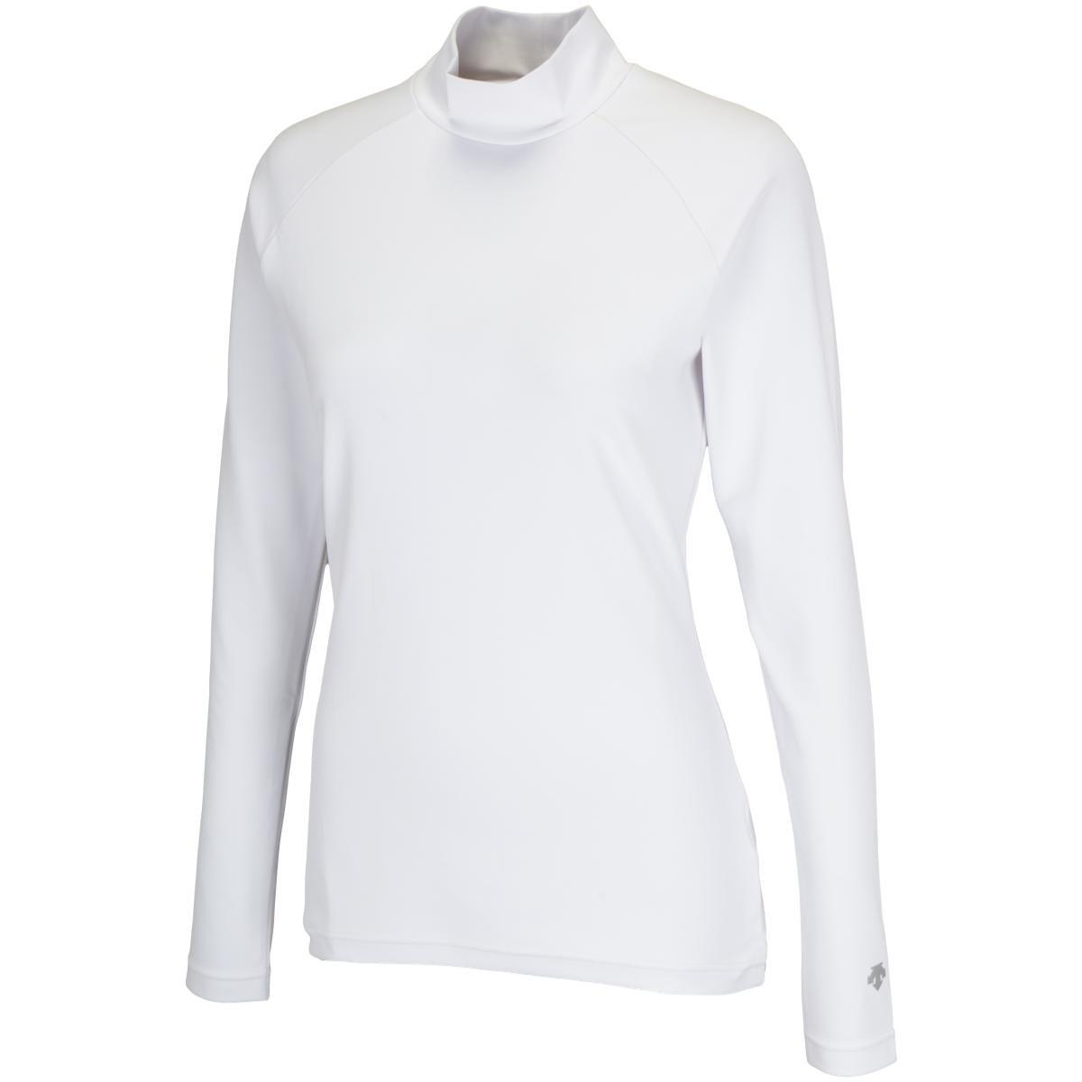 デサントゴルフ DESCENTE GOLF スペクターストレッチ長袖インナーシャツ S ホワイト 00 レディス