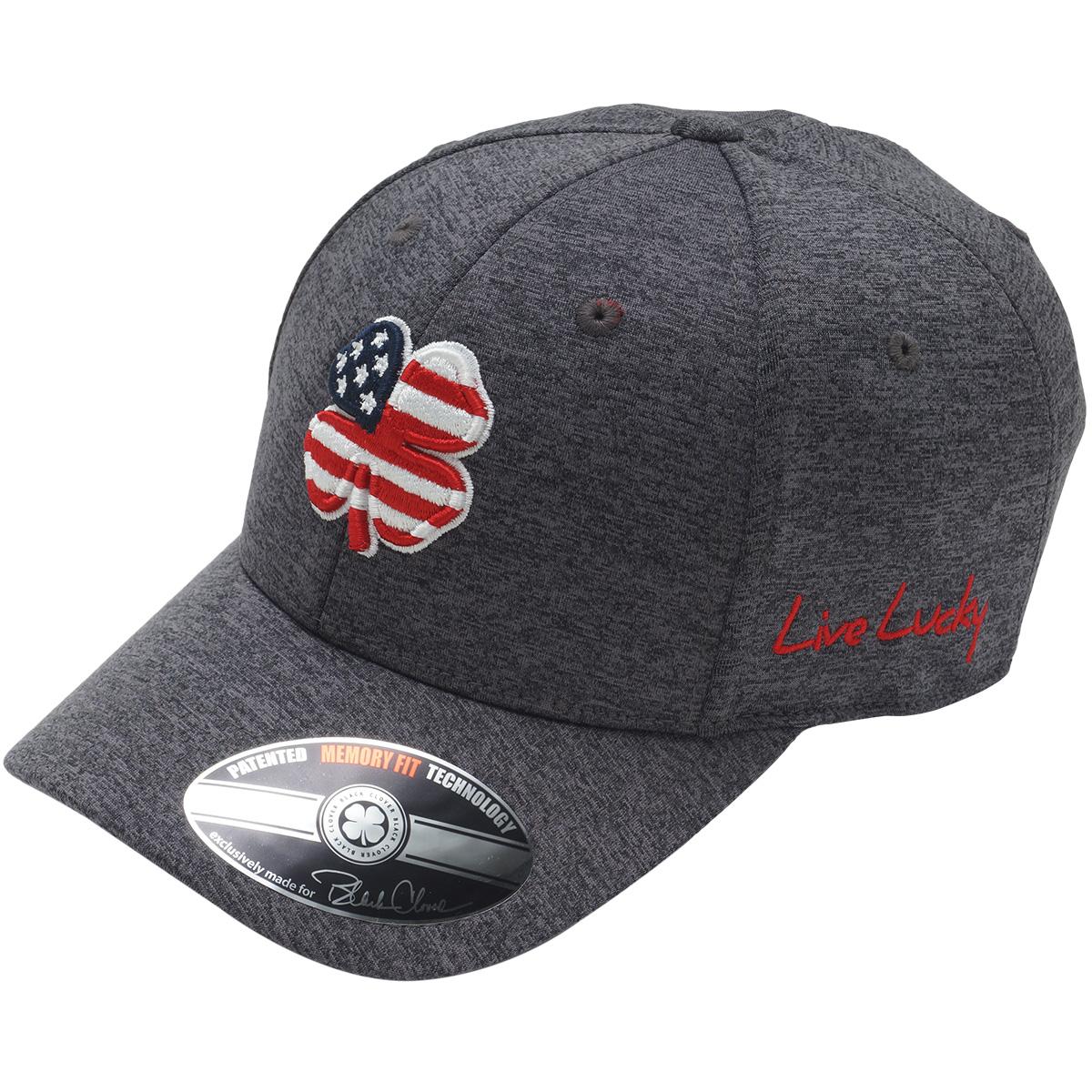 USA FLAG HEATHER キャップ