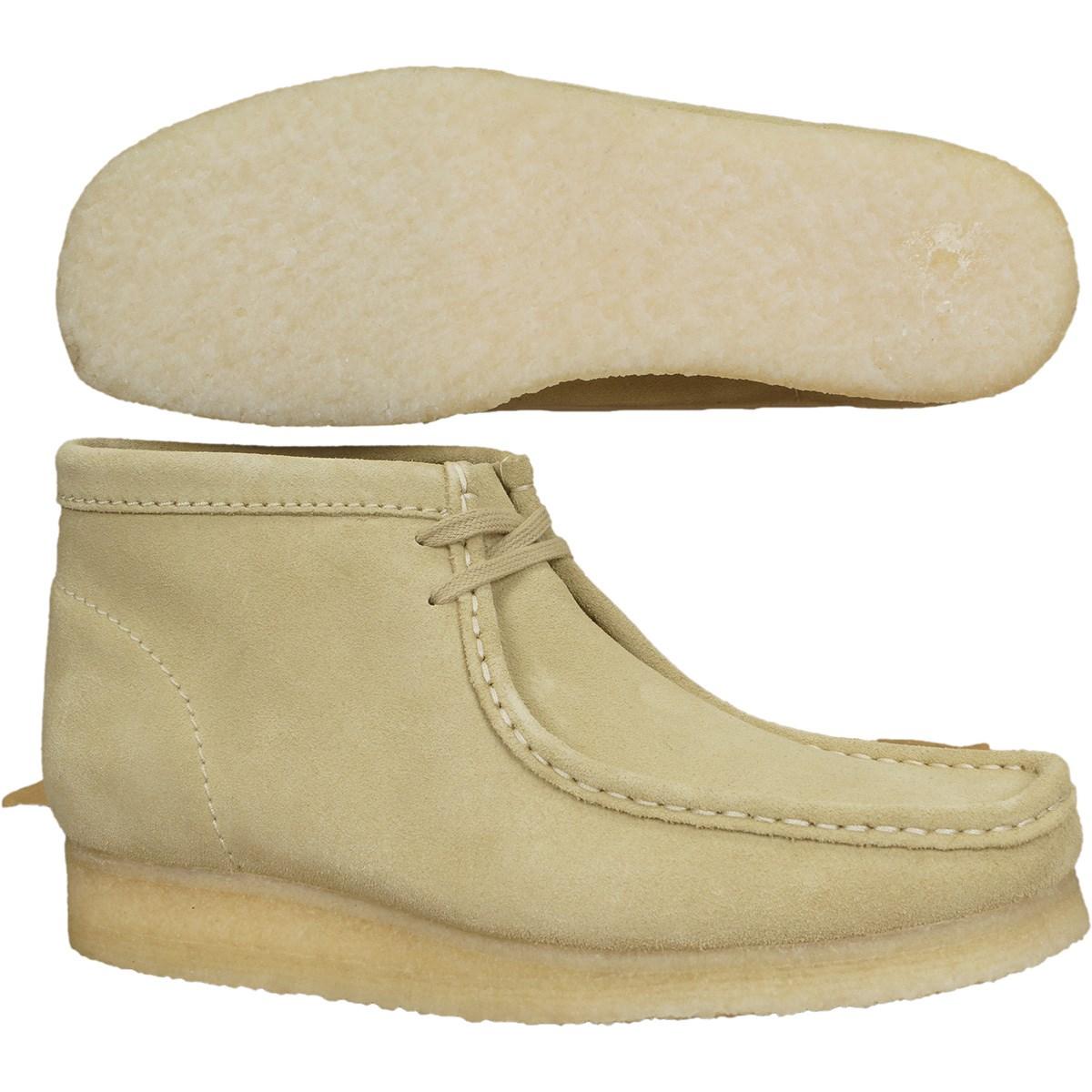 クラークス ワラビー ブーツ