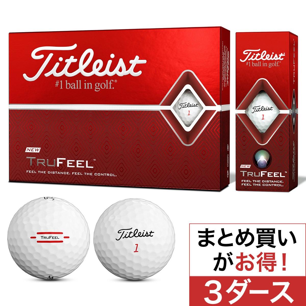 タイトリスト(Titleist) TRUFEEL ボール 3ダースセット