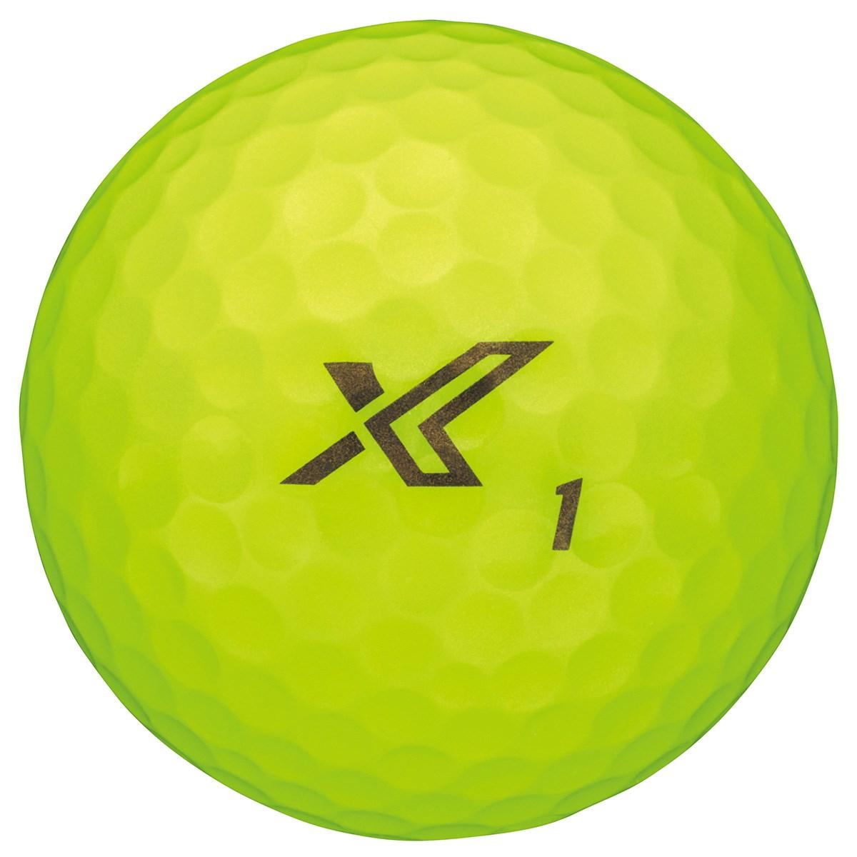 ダンロップ XXIO ゼクシオ エックス ボール 1ダース(12個入り) イエロー