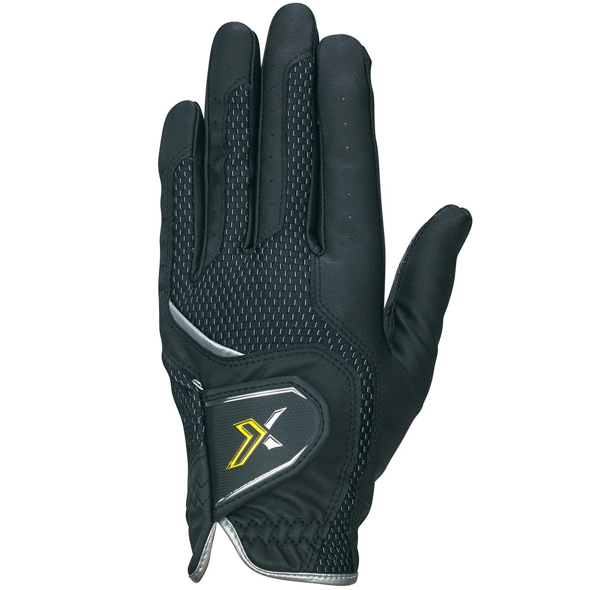 ダンロップ XXIO ゴルフグローブ 24cm 左手着用(右利き用) ブラック
