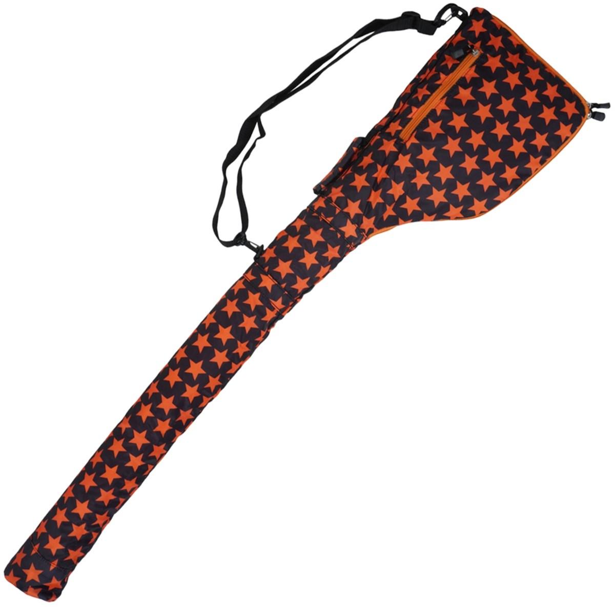 AZROF ソフトクラブケース ブラックオレンジ