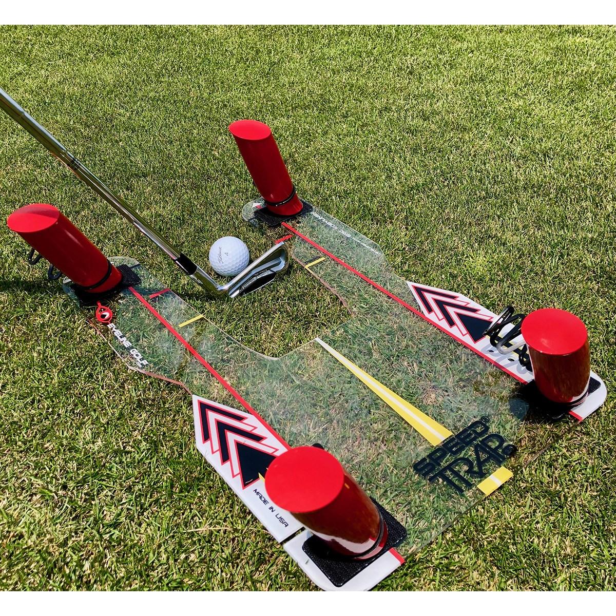 アイラインゴルフ EYELINE GOLF スピードトラップ2.0 クリア/レッド
