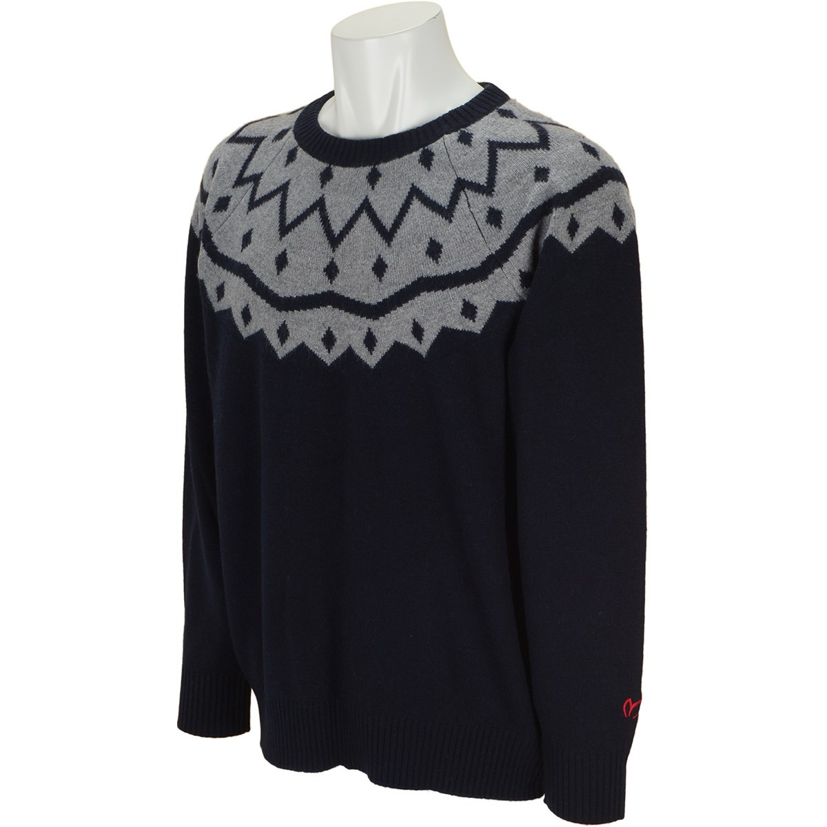 マスターバニーエディション ジャガードセーター