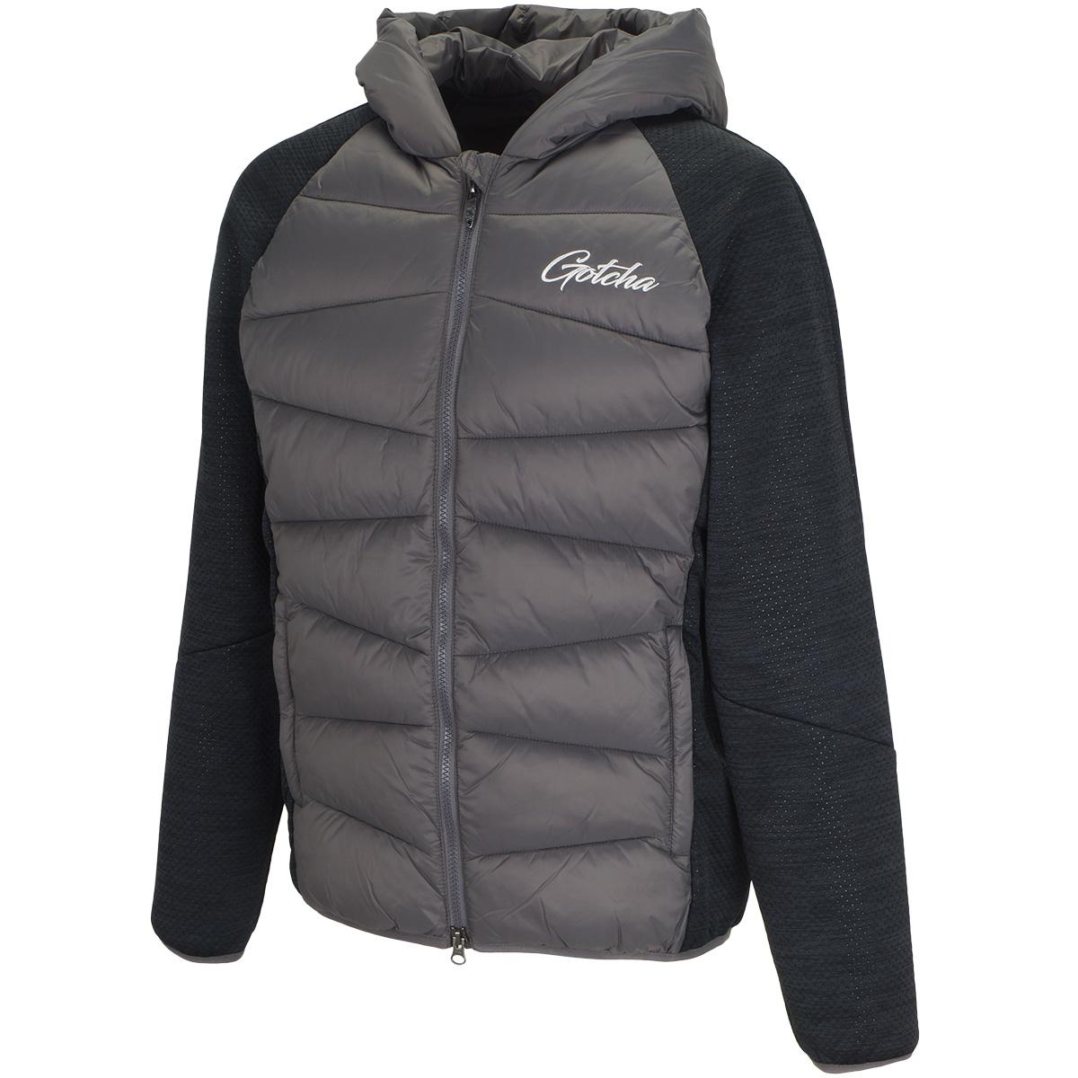 高機能 中綿 切り替えフードジャケット