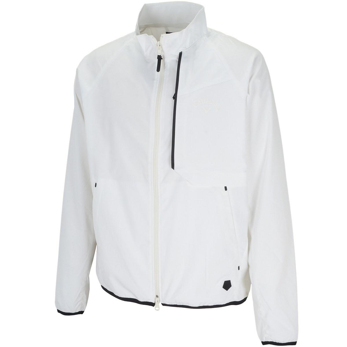 キャロウェイゴルフ Callaway Golf レギュラーシルエットランダムドットエア―ブルゾン LL ホワイト 030