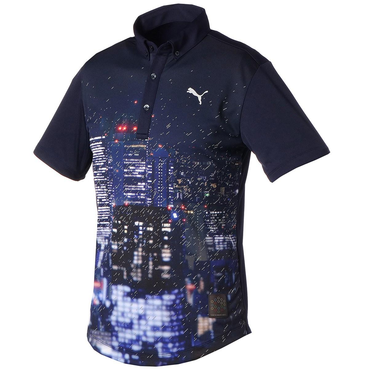 プーマ PUMA TOKYO NIGHT 半袖ポロシャツ L ピーコート 02