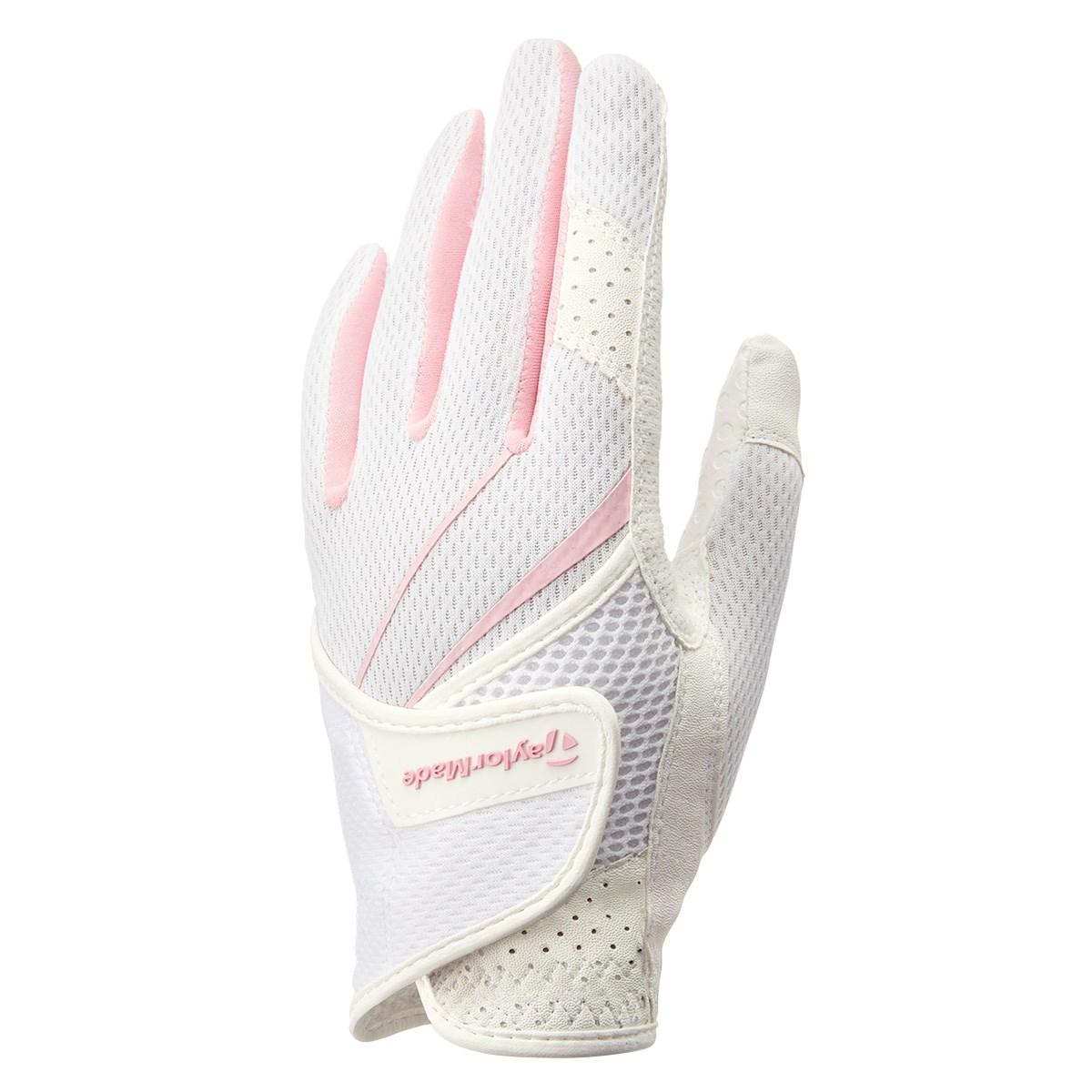 テーラーメイド Taylor Made サマーグローブ 18cm 左手着用(右利き用) ホワイト/ピンク レディス