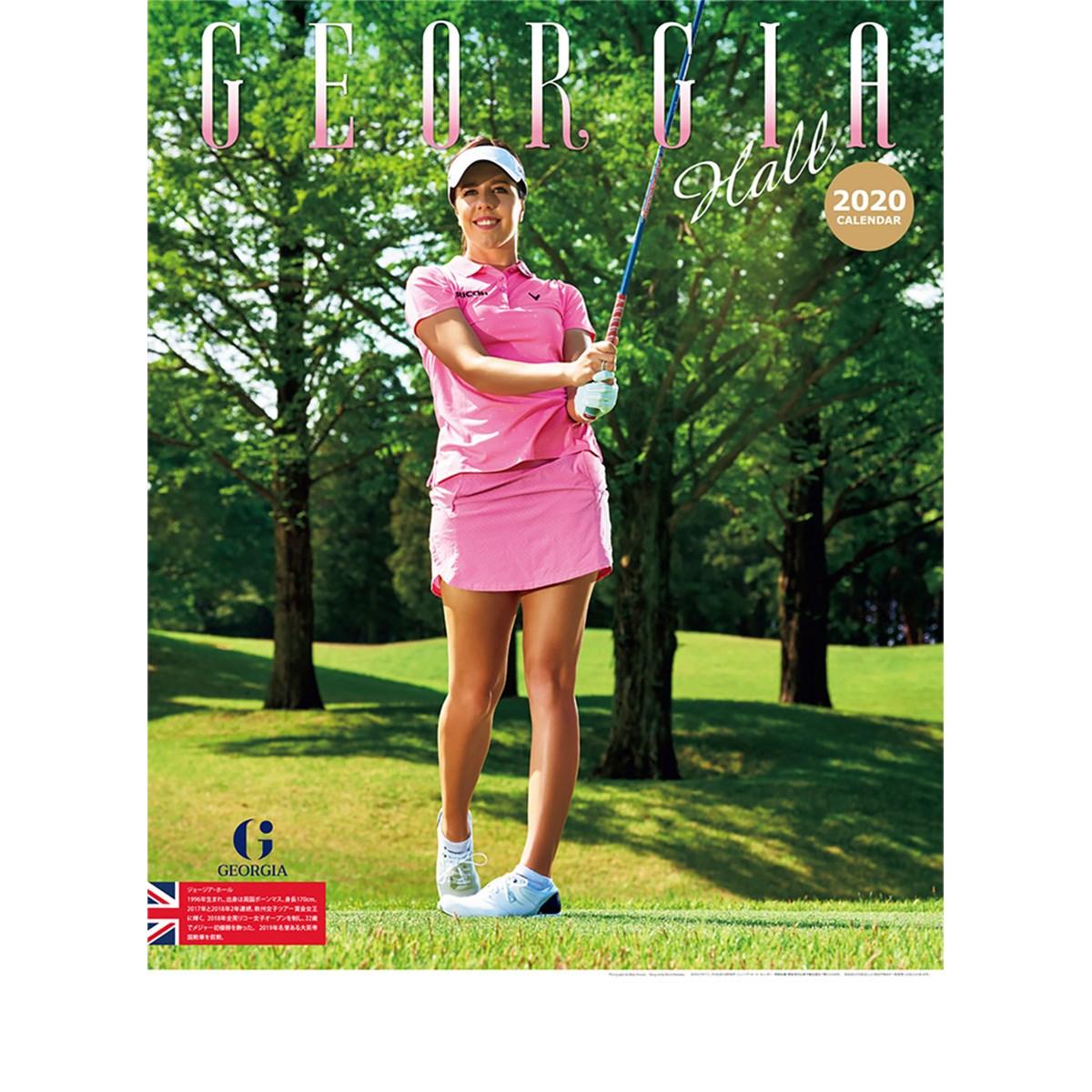 ゴルフダイジェスト(GolfDigest) 2020ジョージア・ホールカレンダー