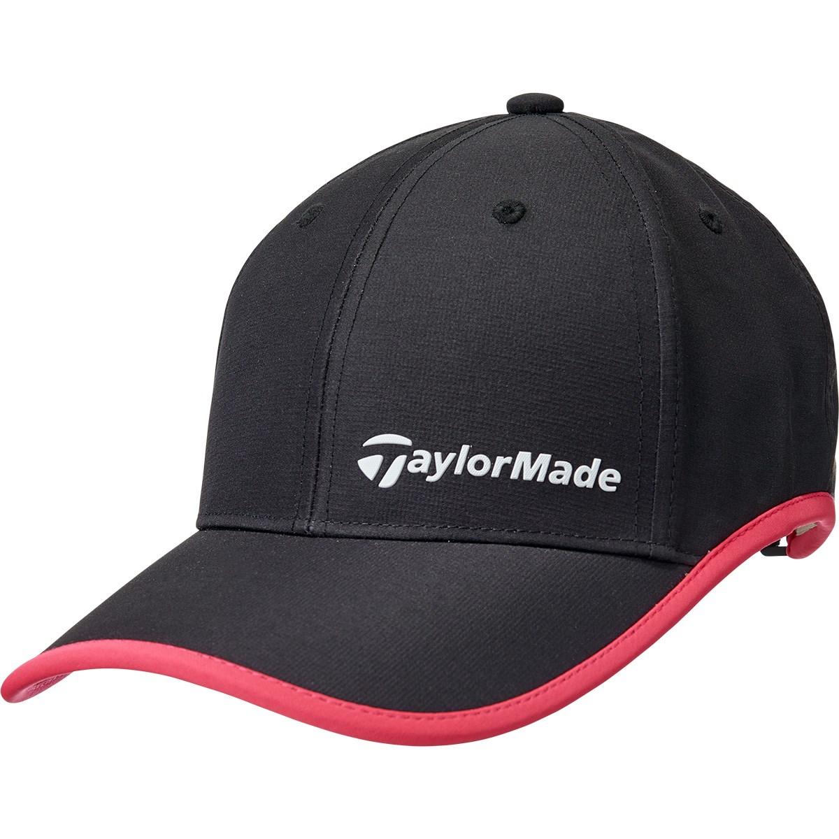 テーラーメイド Taylor Made コントラストトリム キャップ フリー ブラック レディス