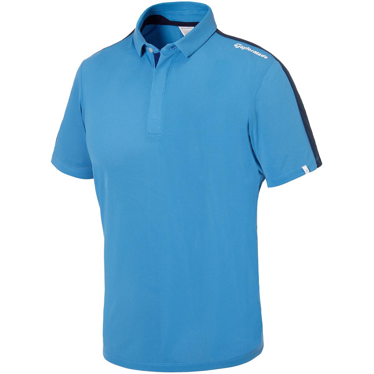 ストレッチ ベンチレーティッドラインド 半袖ポロシャツ