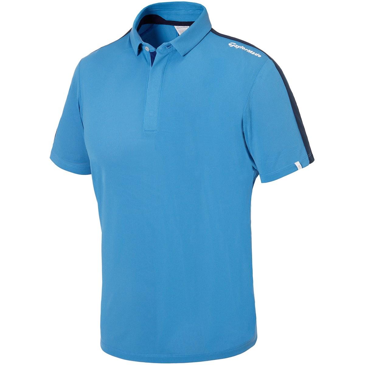 テーラーメイド(Taylor Made) ストレッチ ベンチレーティッドラインド 半袖ポロシャツ