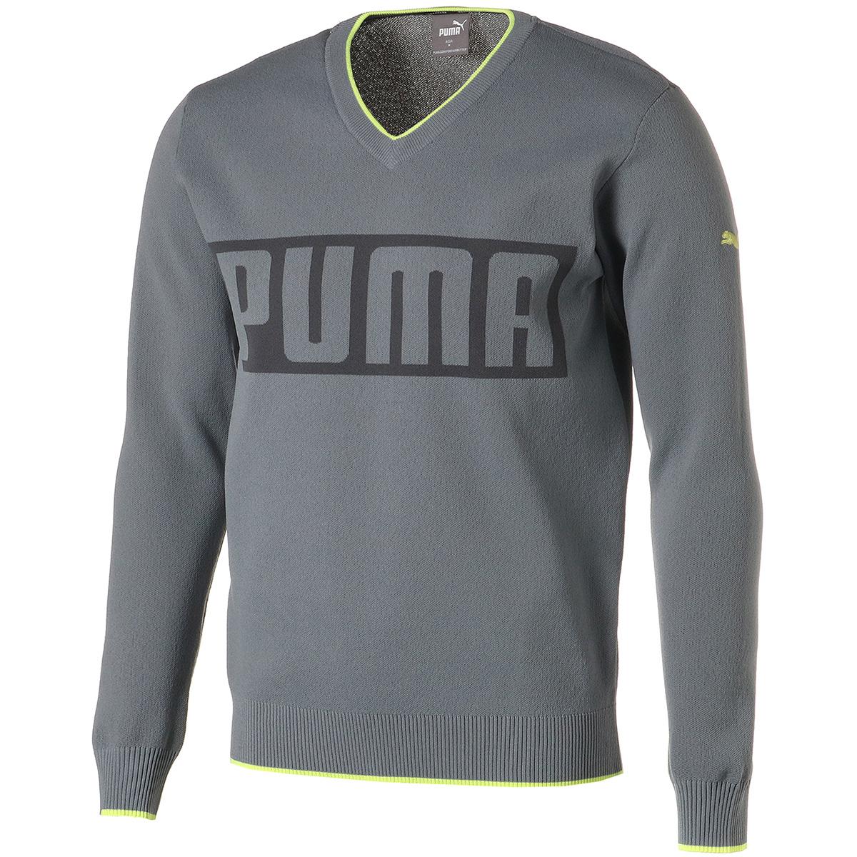 Vネック長袖セーター