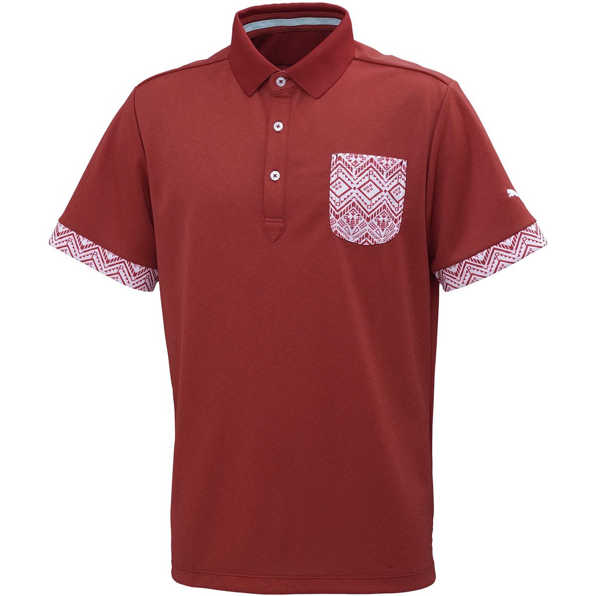 トライバル ポケット 半袖ポロシャツ