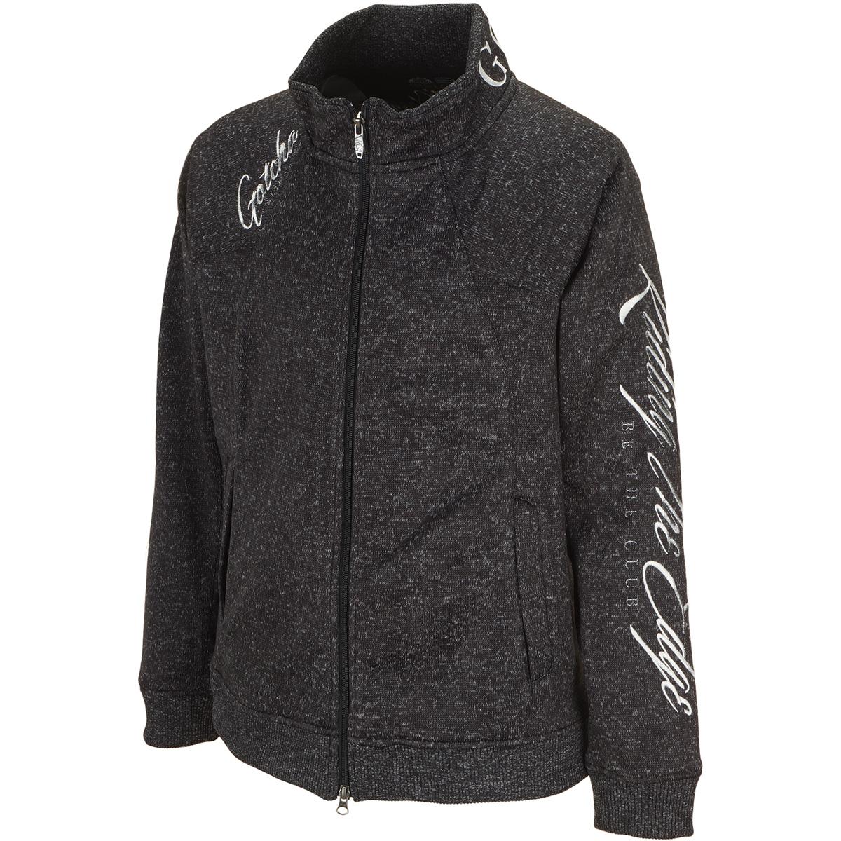 防風 ポリ杢 切り替えジャケット
