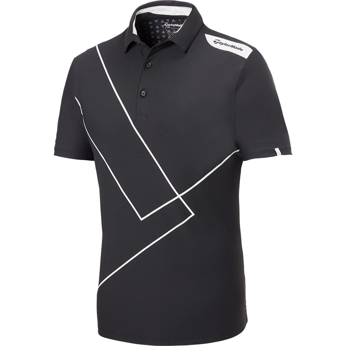 テイラードクールプリント 半袖ポロシャツ