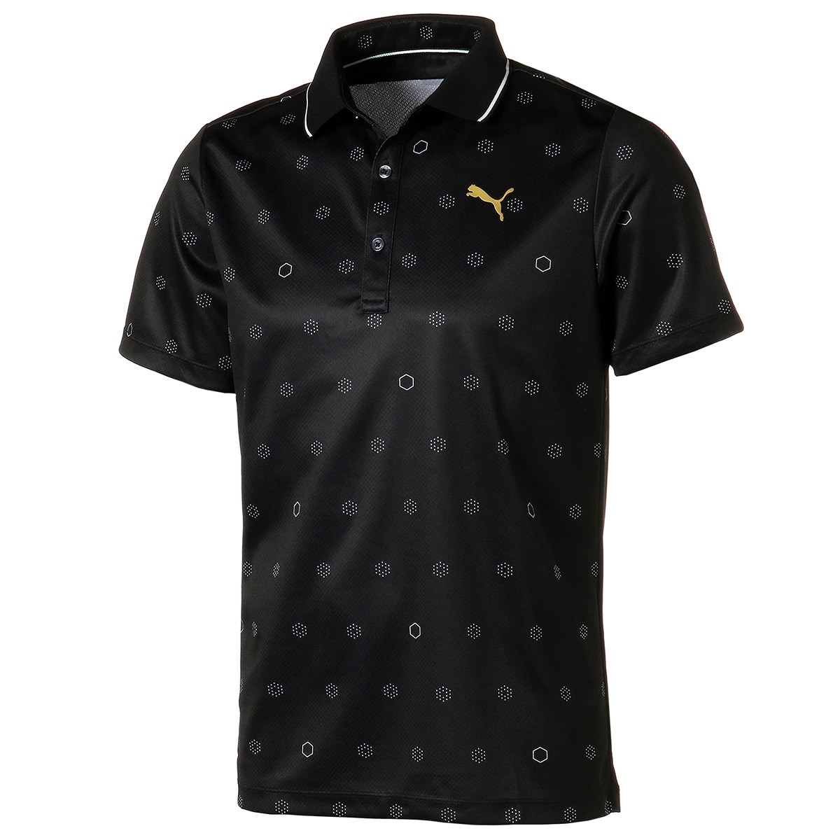 プーマ(PUMA) 18ホール モノグラム 半袖ポロシャツ