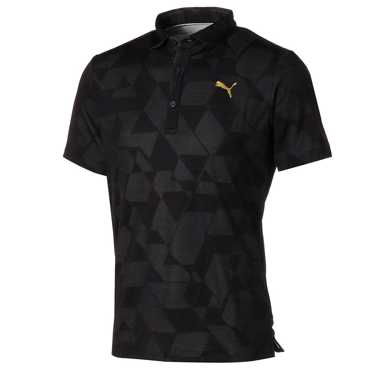 プーマ(PUMA) グラフィック ジャカード 半袖ポロシャツ