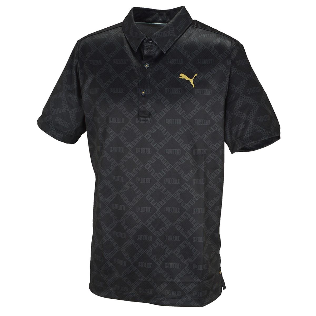 プーマ(PUMA) モノグラム 半袖ポロシャツ