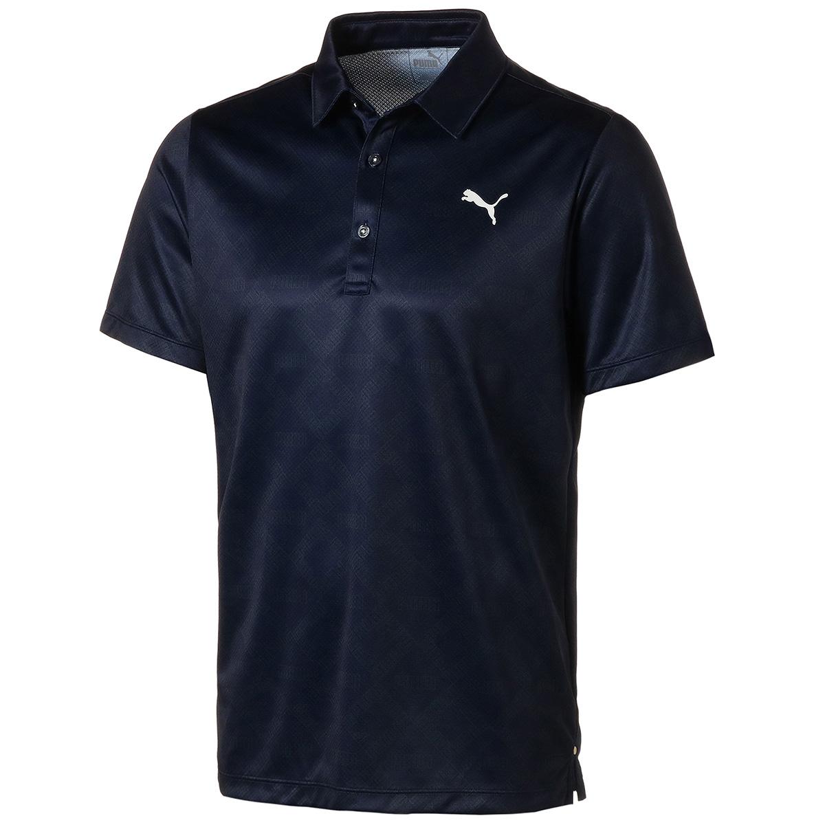 モノグラム 半袖ポロシャツ