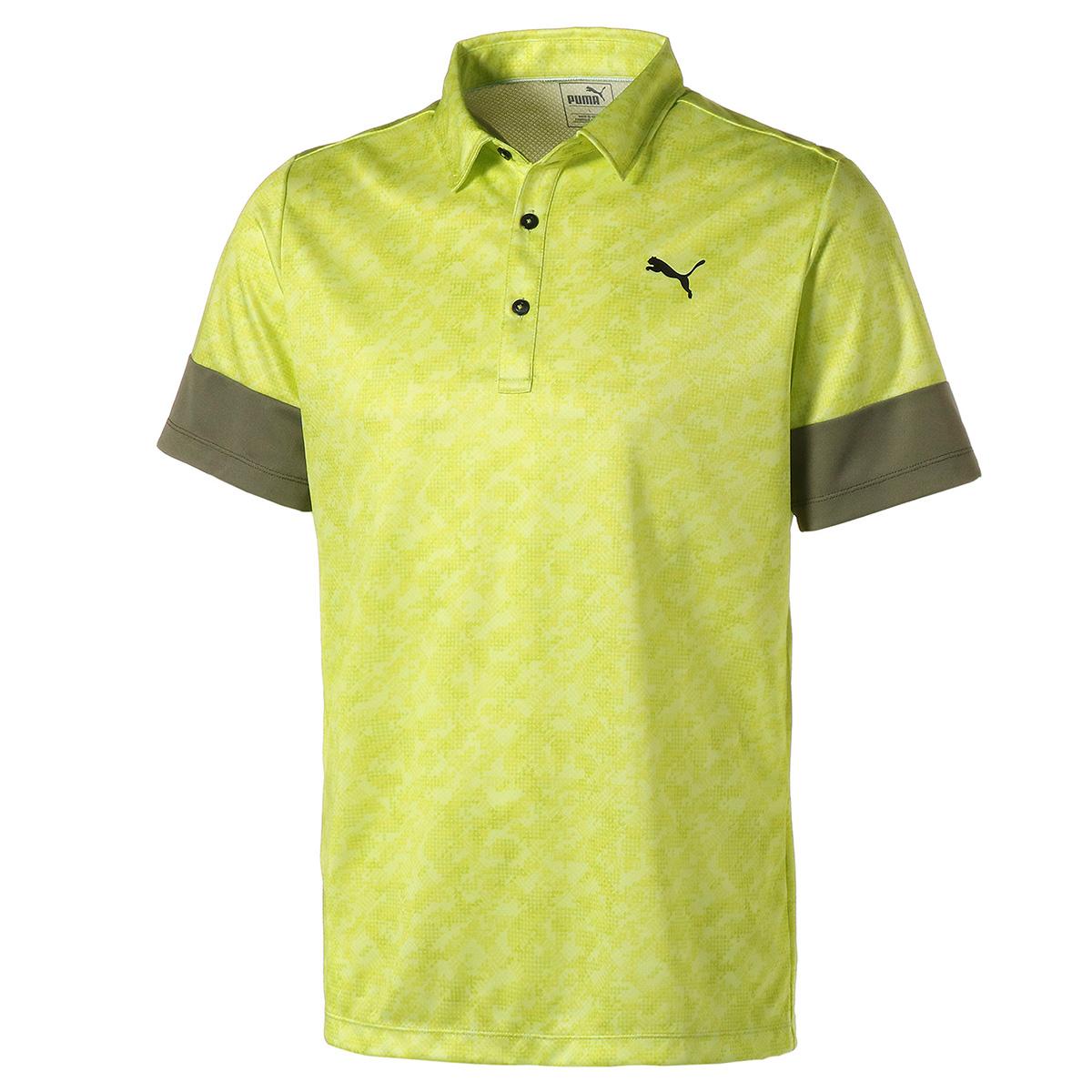 カフスリーブ 半袖ポロシャツ