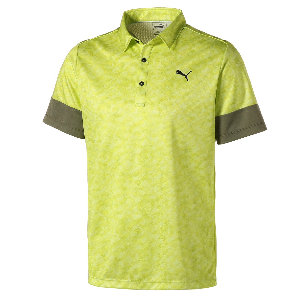 プーマ(PUMA) カフスリーブ 半袖ポロシャツ